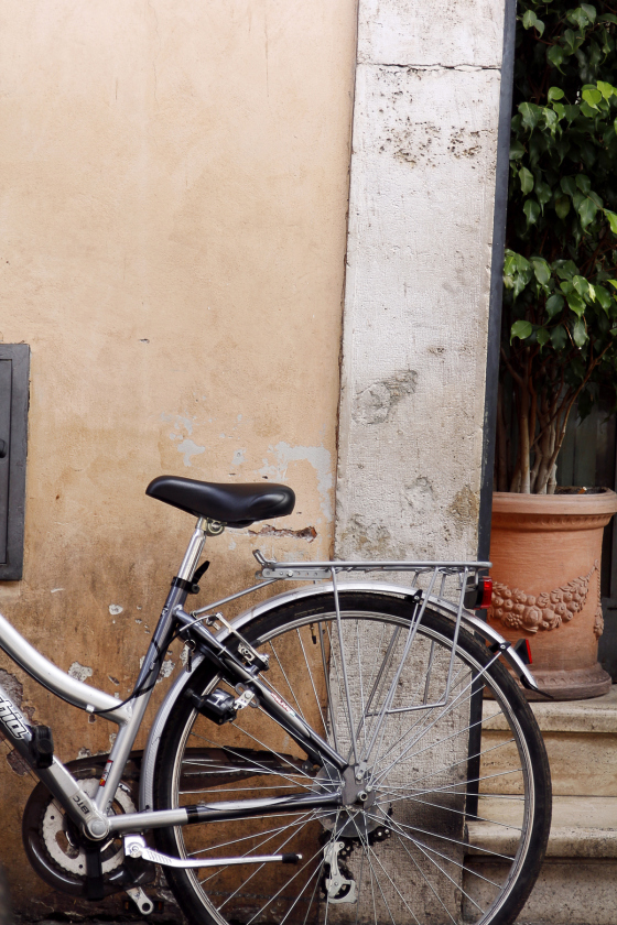 Bike, Rome, Italy