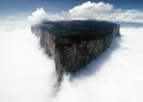 Mount Roraima, Venezuela:Brazil:Guyana